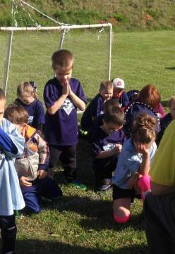 We pray before every game.